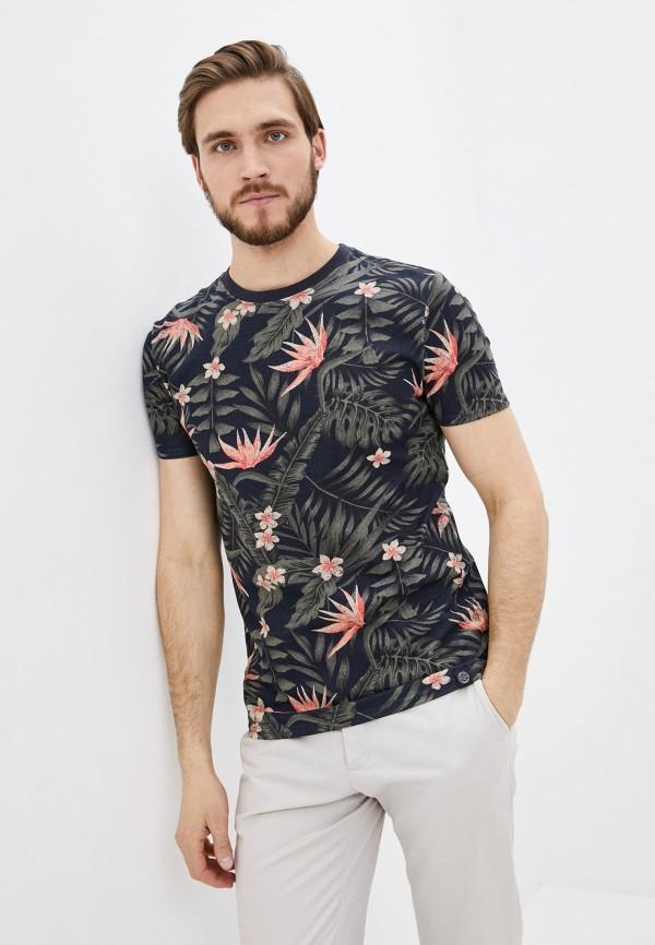 мужская футболка с коротким рукавом shine original, разноцветная