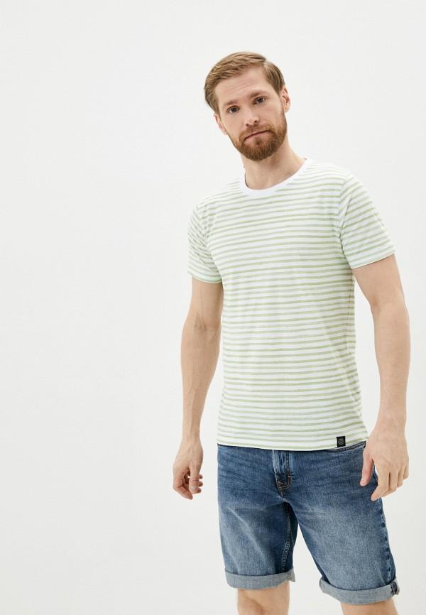 мужская футболка с коротким рукавом shine original, зеленая
