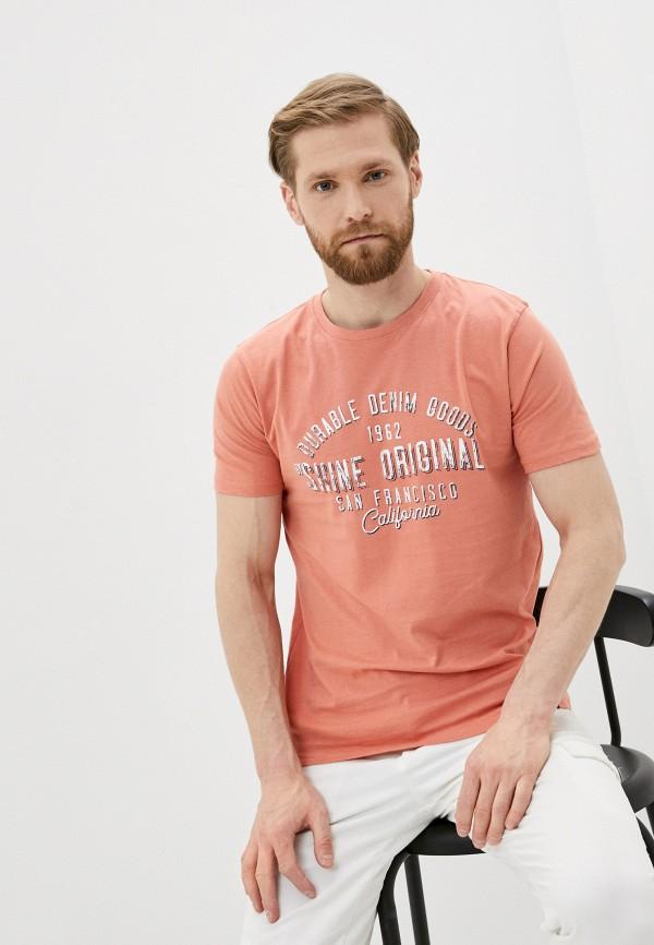 мужская футболка с коротким рукавом shine original