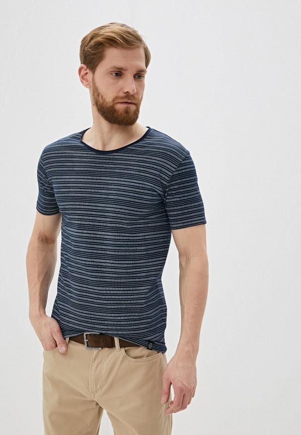 мужская футболка с коротким рукавом shine original, серая