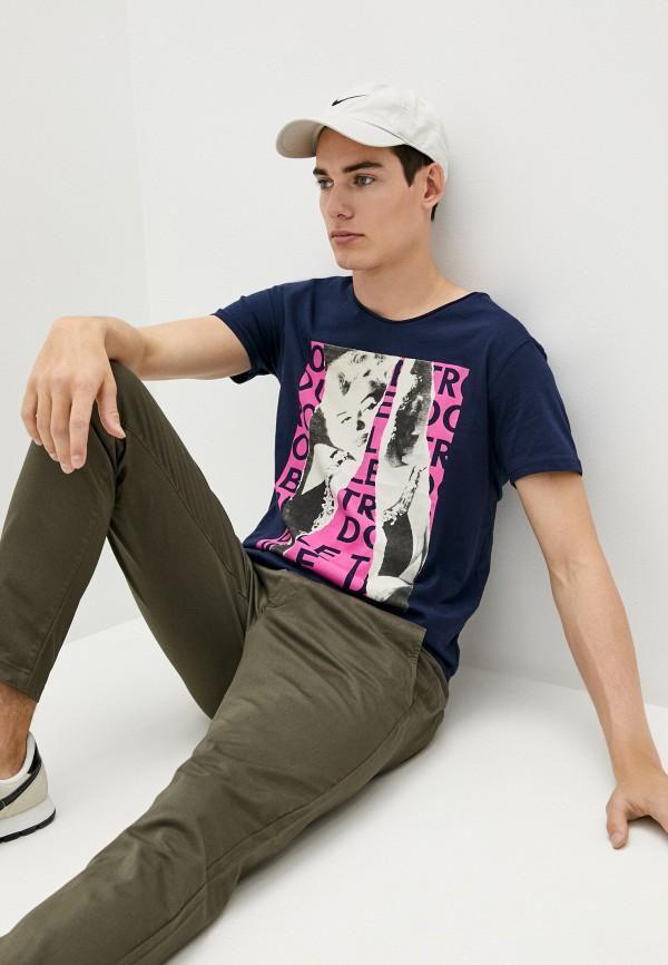 мужская футболка shine original, синяя