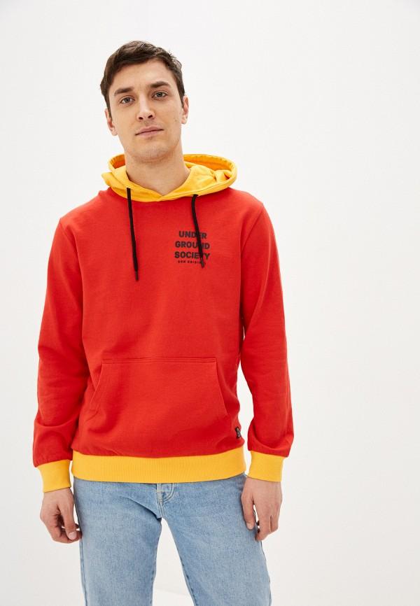 мужские худи shine original, красные