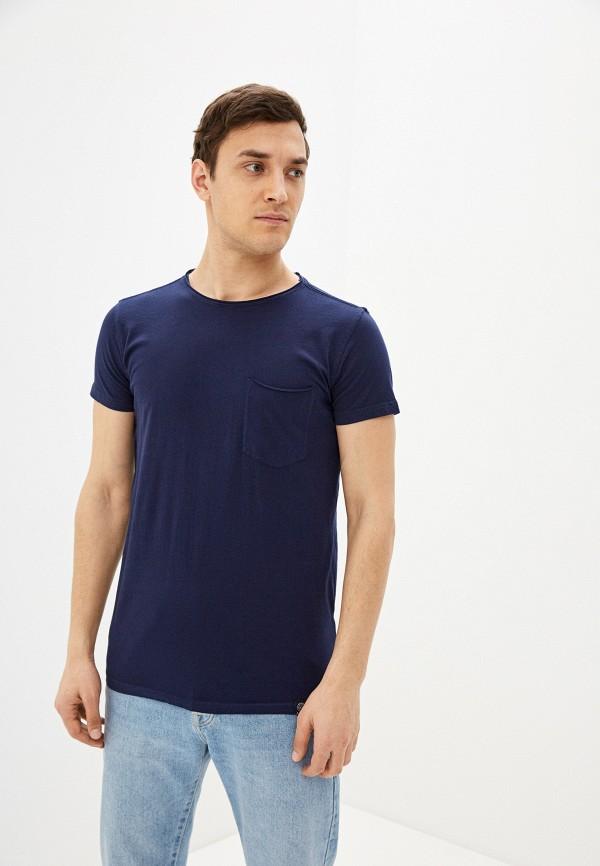 мужская футболка с коротким рукавом shine original, синяя