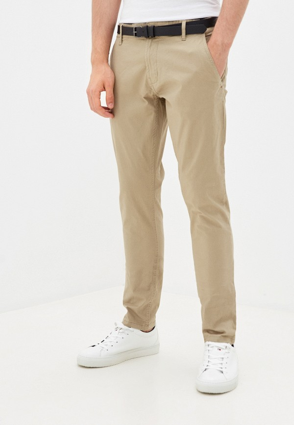 мужские брюки чинос shine original, бежевые