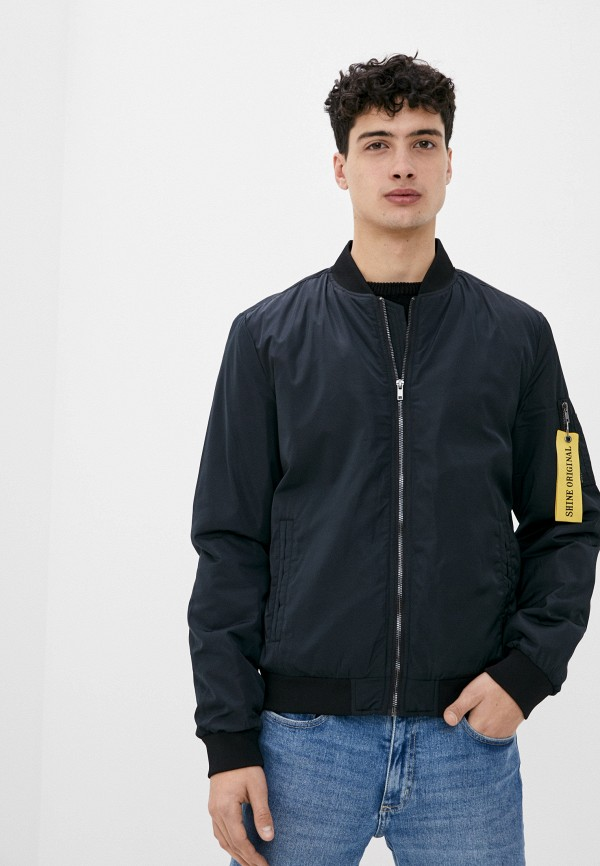мужская куртка shine original, черная