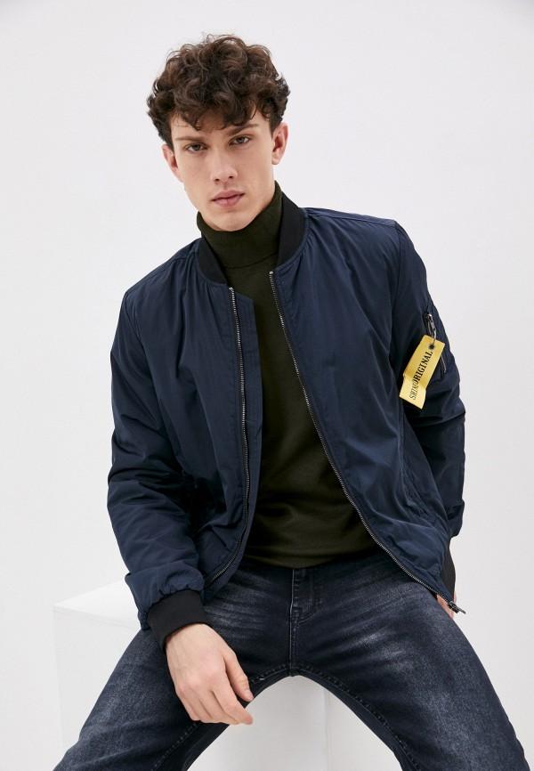 мужская куртка shine original, синяя