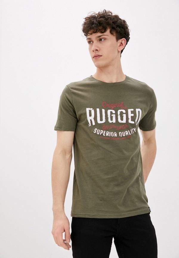 мужская футболка с коротким рукавом shine original, хаки