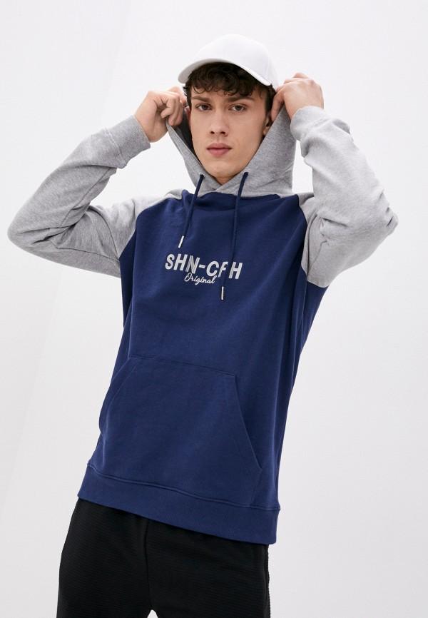 мужские худи shine original, синие