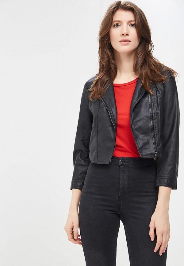 Купить Куртка кожаная SH, sh021ewapaw6, черный, Весна-лето 2018