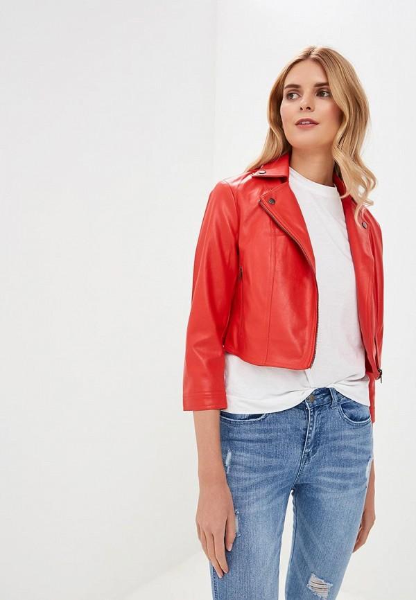 женская куртка sh, красная