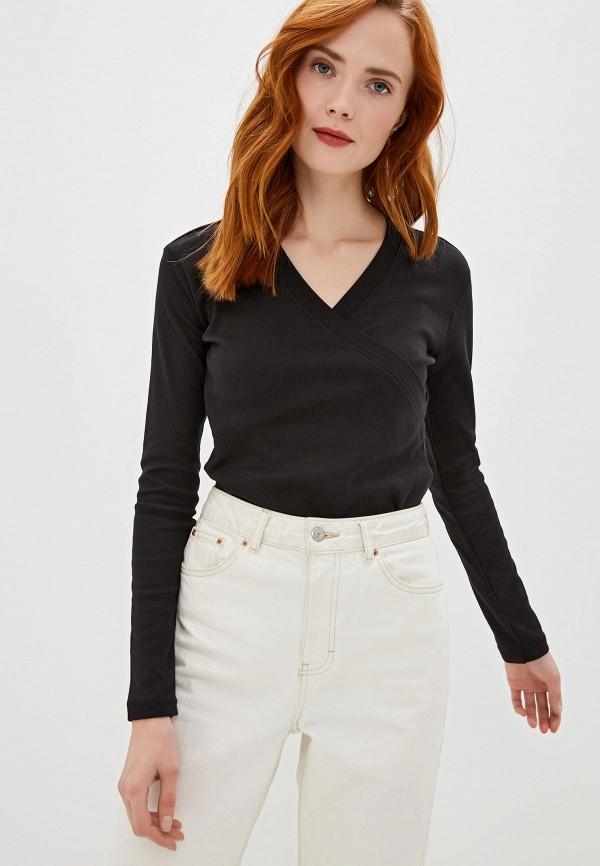 женский пуловер sh, черный