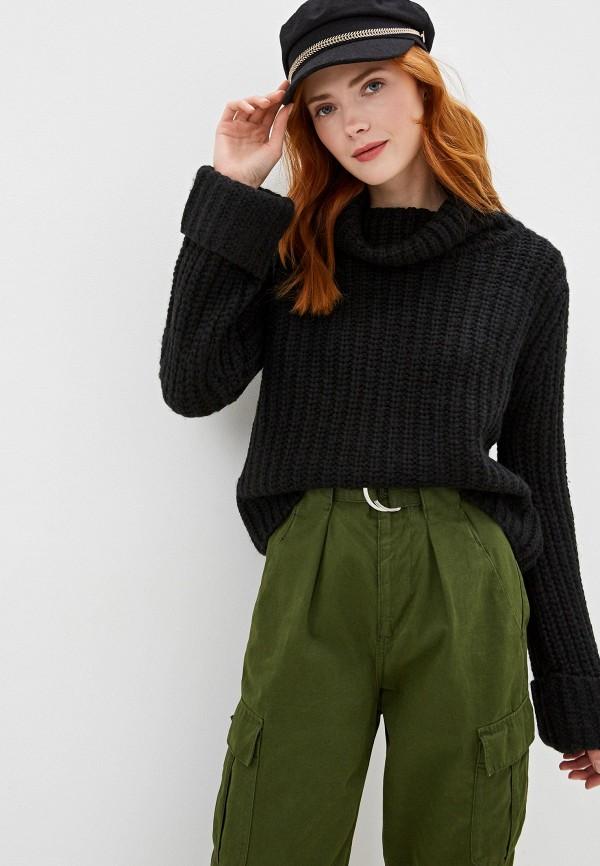 женский свитер sh, черный
