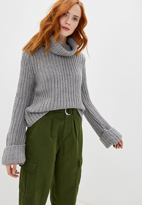 женский свитер sh, серый