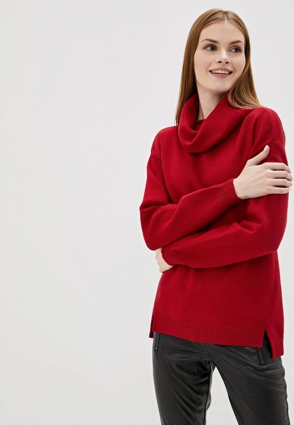 женский свитер sh, красный