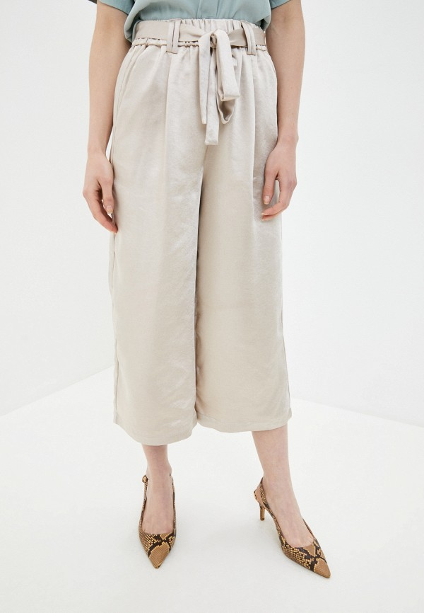 женские повседневные брюки sh, бежевые
