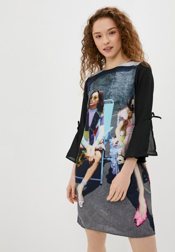 женское повседневные платье sh, разноцветное
