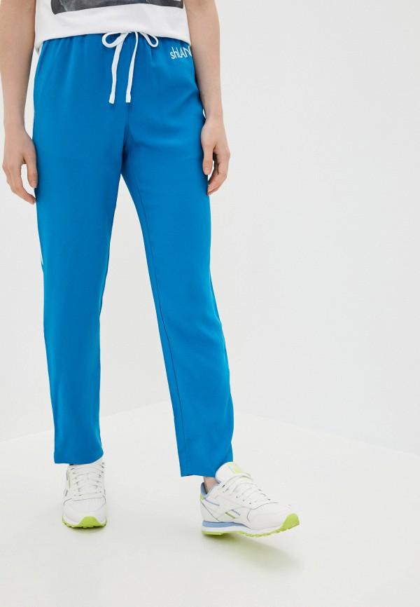 женские повседневные брюки sh, синие