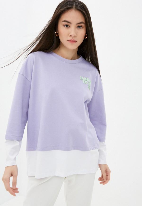женский свитшот sh, фиолетовый