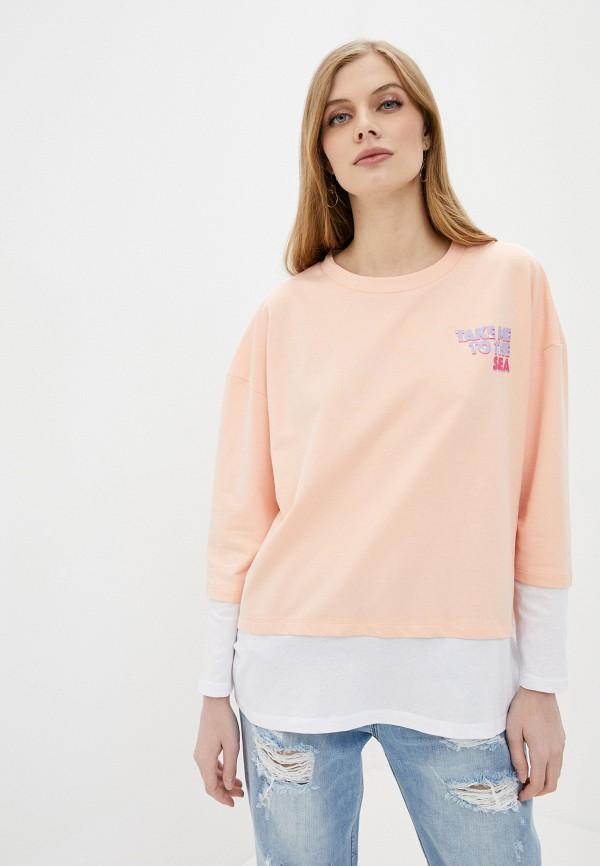 женский свитшот sh, розовый
