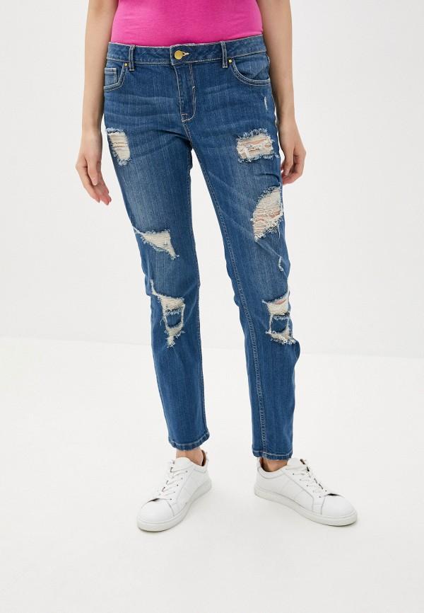 женские прямые джинсы sh, синие
