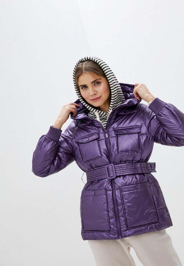 женская куртка sh, фиолетовая