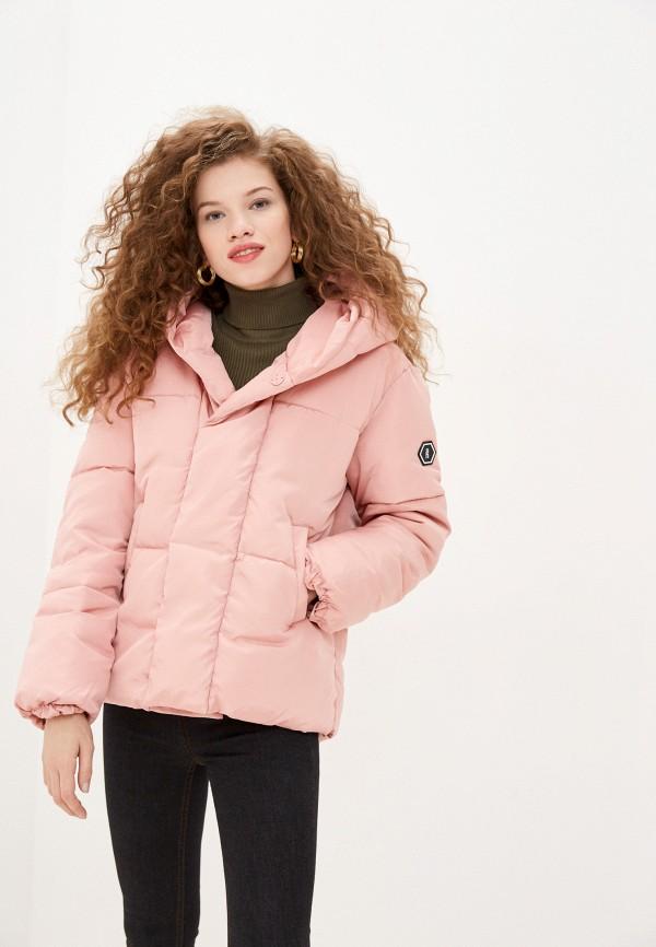 женская куртка sh, розовая