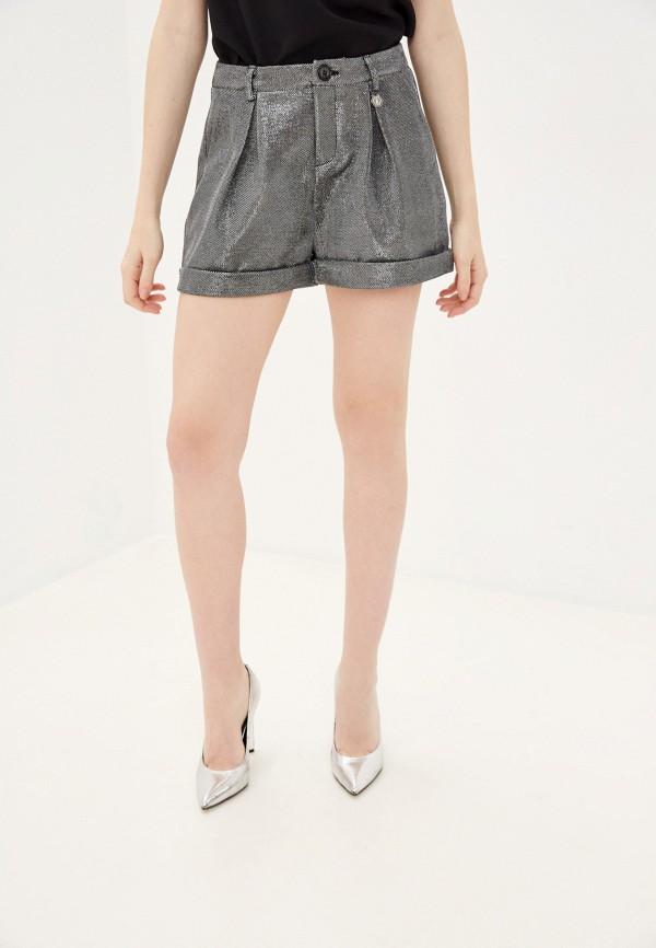 женские повседневные шорты sh, серебряные