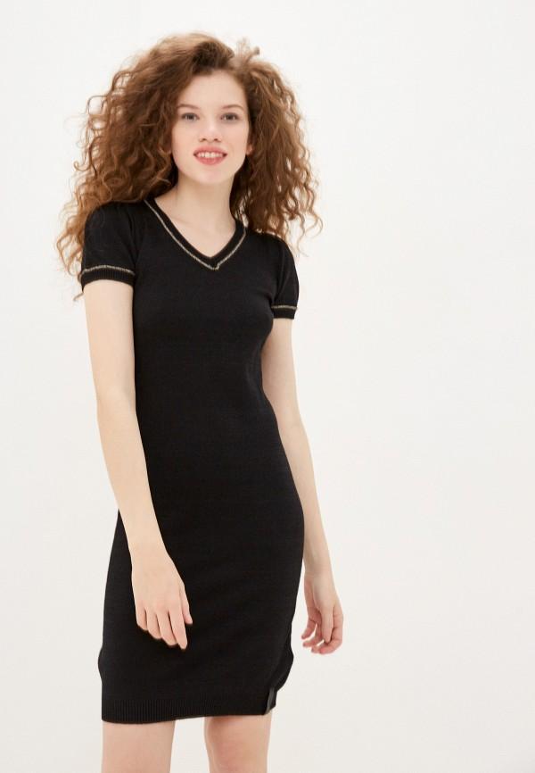женское повседневные платье sh, черное