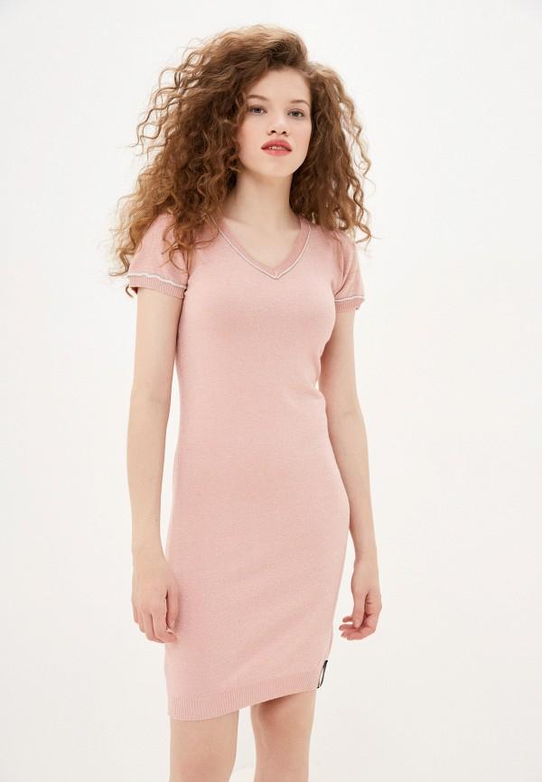 женское платье sh, розовое