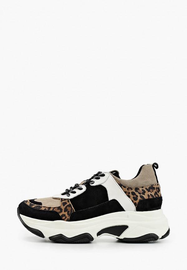 женские низкие кроссовки shoe biz, разноцветные