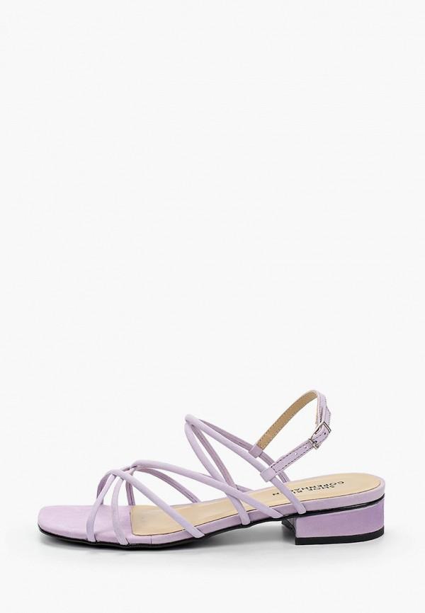 женские сандалии shoe biz, фиолетовые