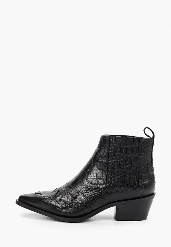 женские ботильоны shoe biz, черные