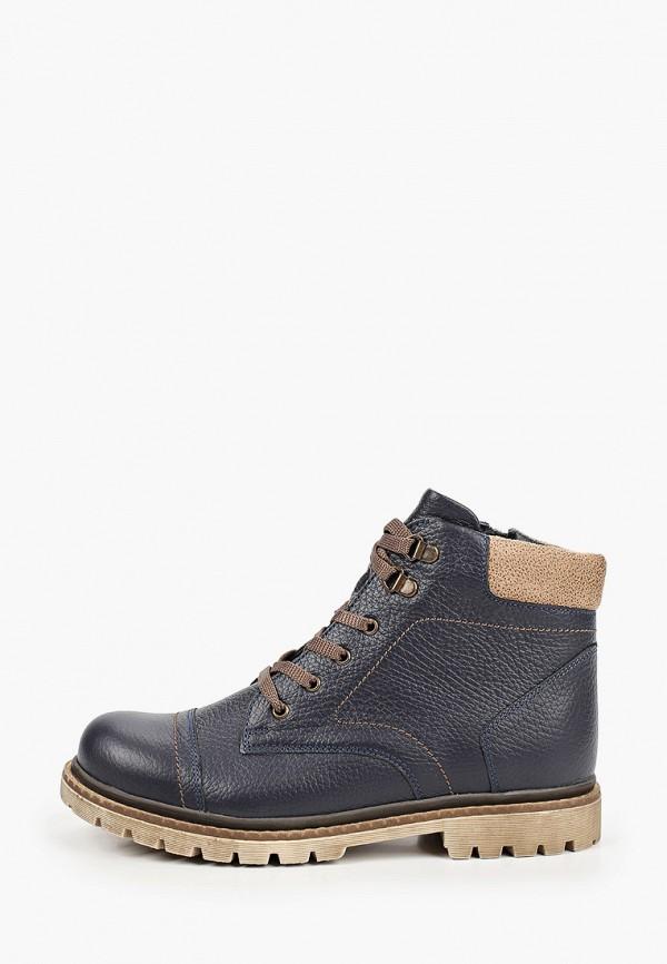 ботинки shagovita для мальчика, синие