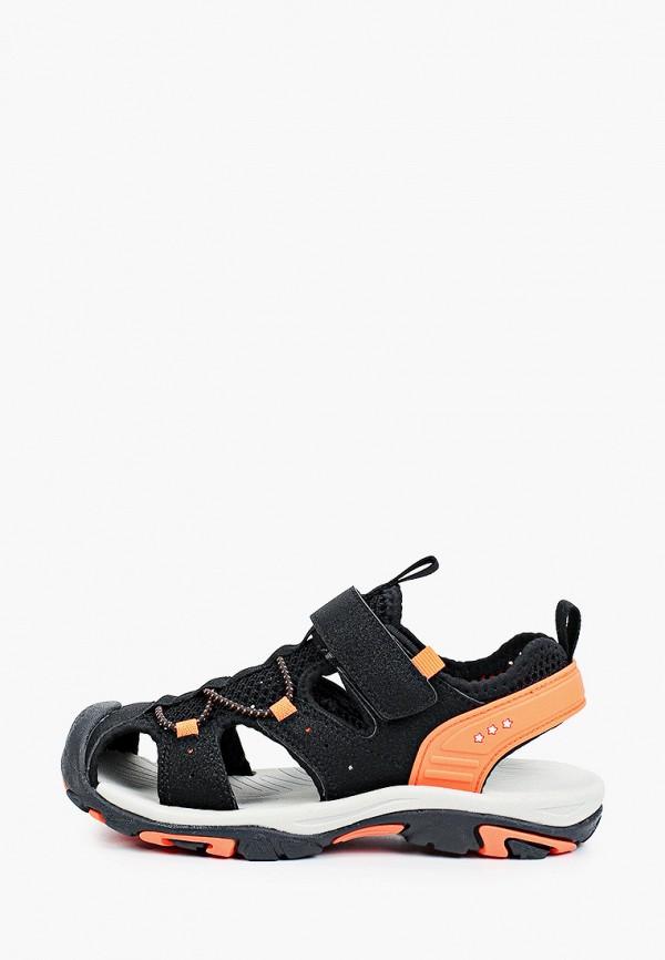 сандалии shagovita для мальчика, черные