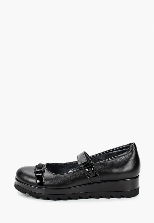 туфли shagovita для девочки, черные