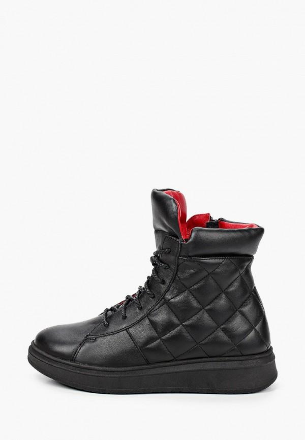 ботинки shagovita для девочки, черные