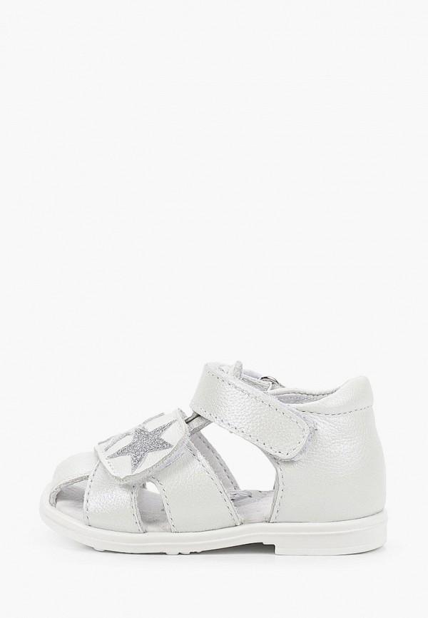 сандалии shagovita для девочки, белые