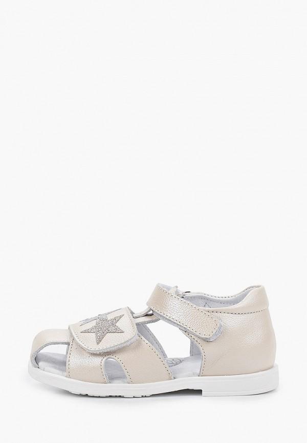 сандалии shagovita для девочки, бежевые