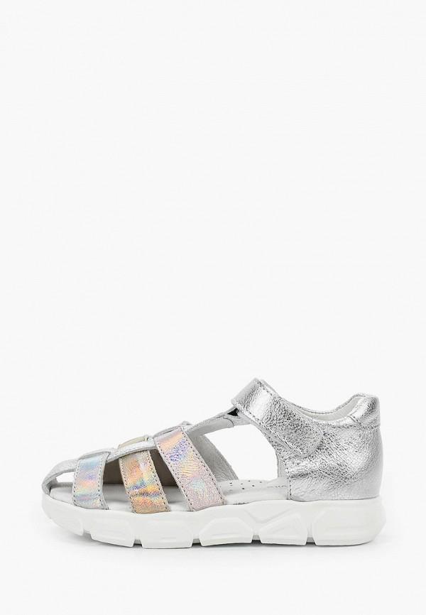 сандалии shagovita для девочки, серебряные