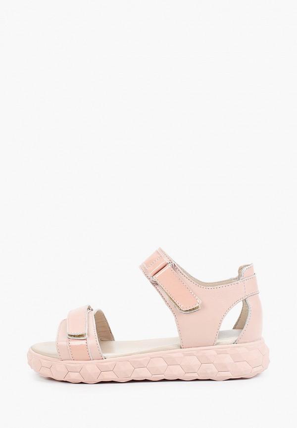 сандалии shagovita для девочки, розовые