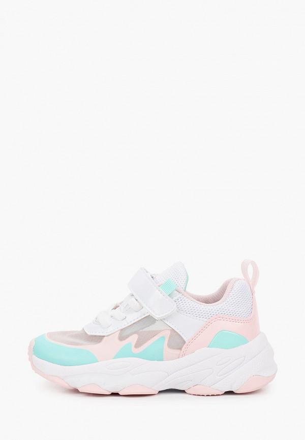 кроссовки shagovita для девочки, разноцветные
