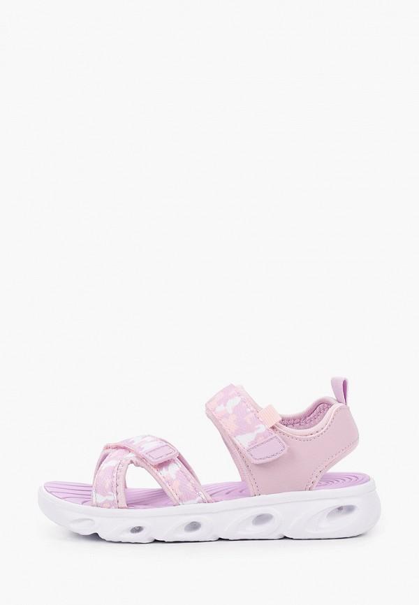 сандалии shagovita для девочки, фиолетовые