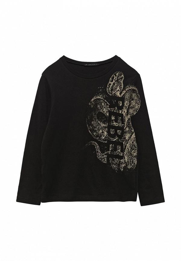 Купить Лонгслив Sisley, SI007EBACLF3, черный, Весна-лето 2018