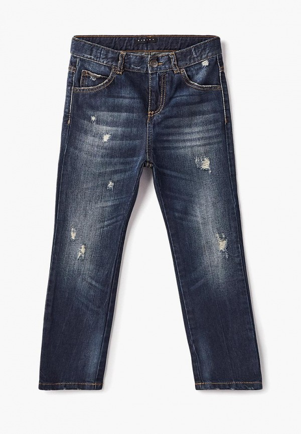 джинсы sisley для мальчика, синие