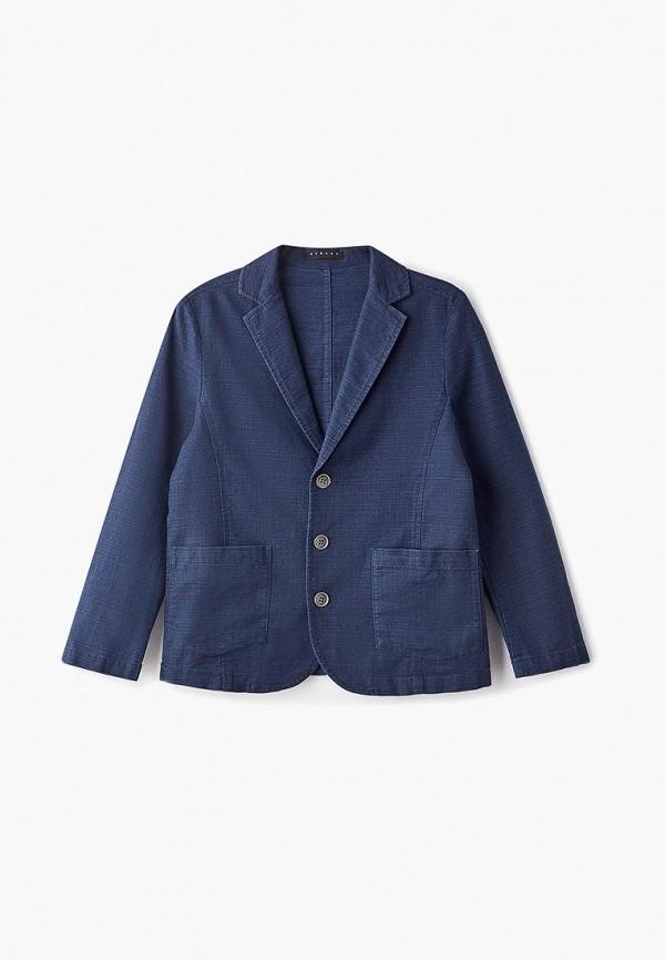пиджак sisley для мальчика, синий