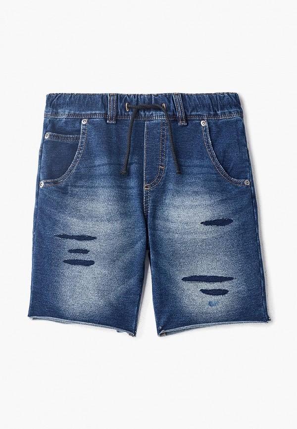 джинсовые шорты sisley для мальчика, синие