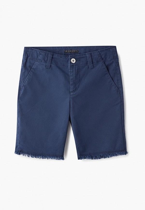 шорты sisley для мальчика, синие