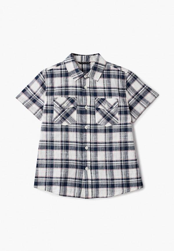 рубашка sisley для мальчика, синяя