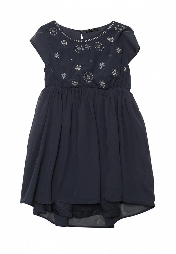Купить Платье Sisley, SI007EGACFT8, синий, Весна-лето 2018