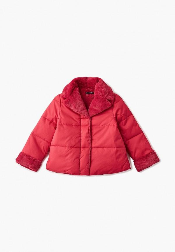 куртка sisley для девочки, розовая